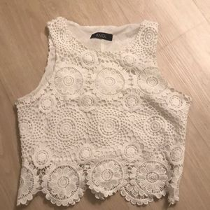 ANGL lace top